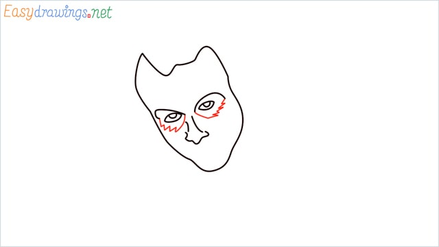 how to draw the joker step (5)