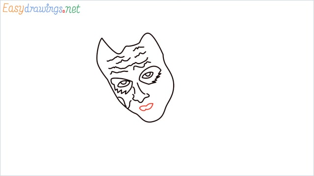 how to draw the joker step (7)