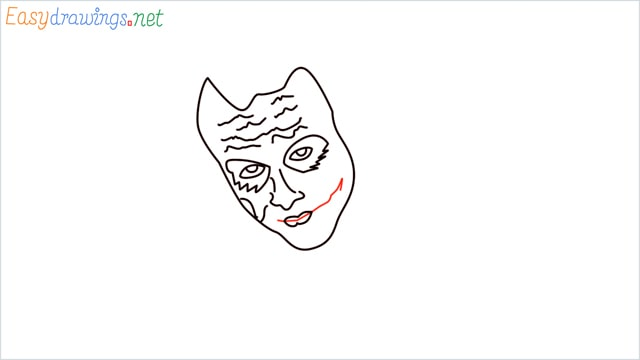 how to draw the joker step (8)