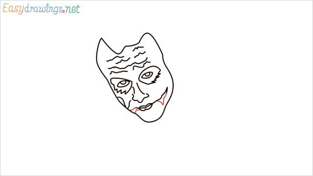 how to draw the joker step (9)