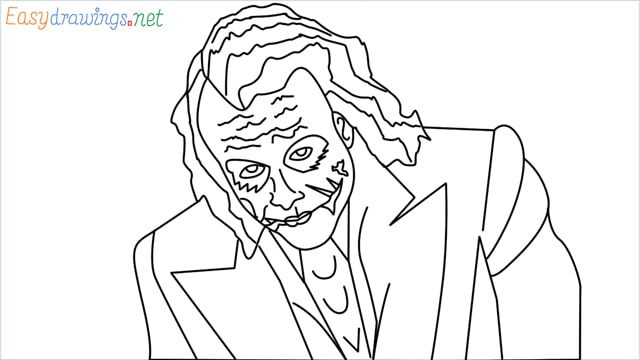 how to draw the joker step by step for beginners