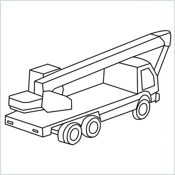 Crane drawing
