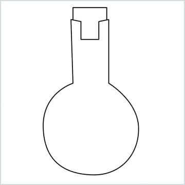 Flasks drawing