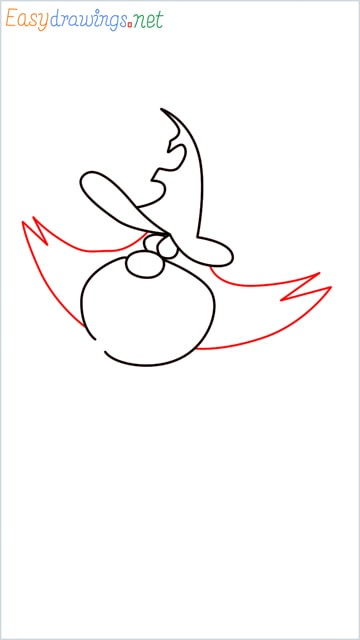How to draw Oggy brother Jack step (5)