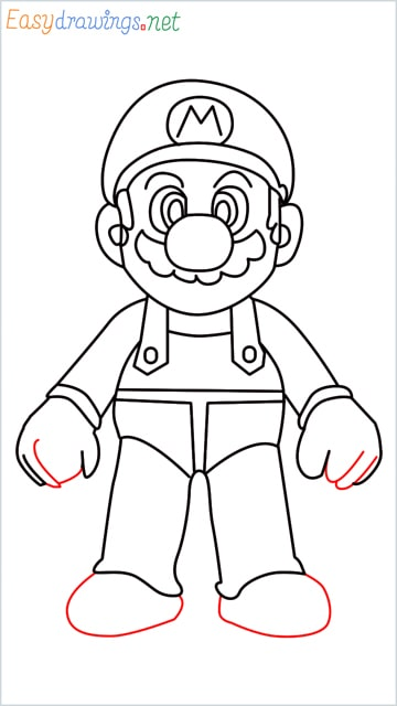 How to draw Super Mario step (15)