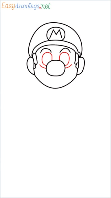 How to draw Super Mario step (6)