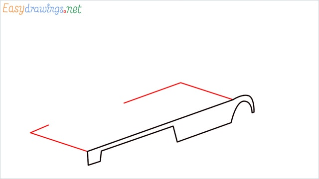 How to draw a Crane truck step (2)
