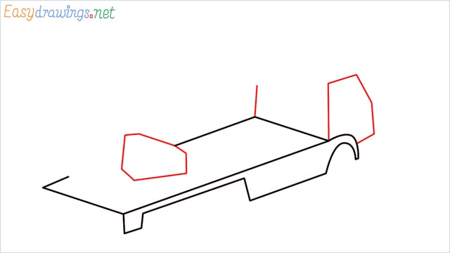 How to draw a Crane truck step (3)