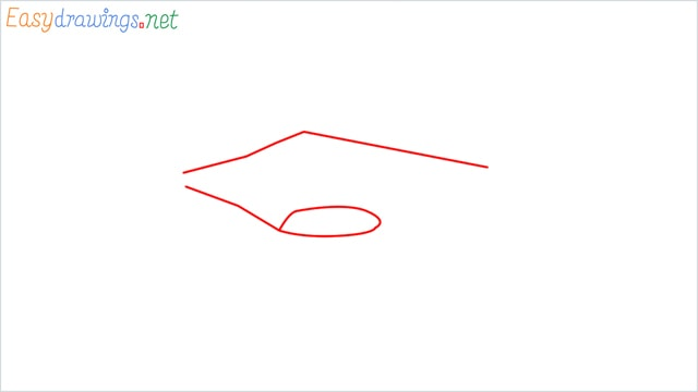 How to draw a Drone step (1)
