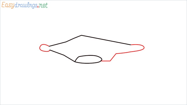 How to draw a Drone step (2)