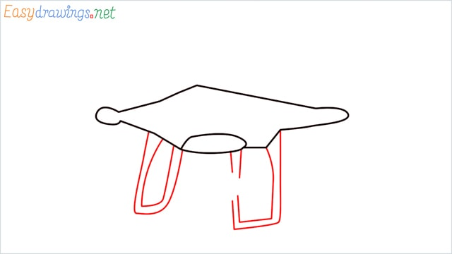 How to draw a Drone step (3)
