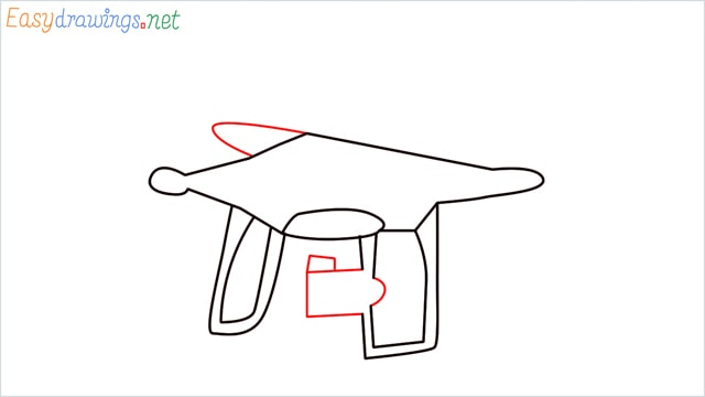 How to draw a Drone step (4)