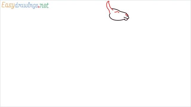 How to draw a Llama step (3)