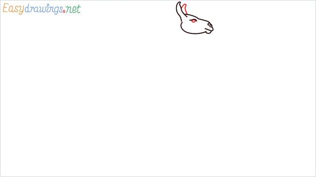 How to draw a Llama step (4)
