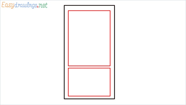 How to draw a Mobile phone step (2)