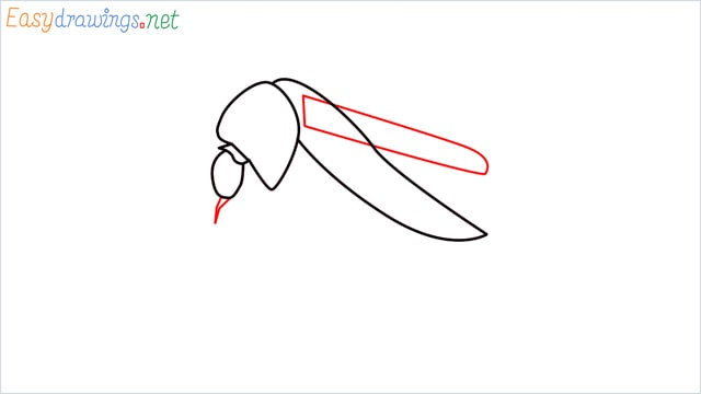 How to draw a Mosquito step (4)