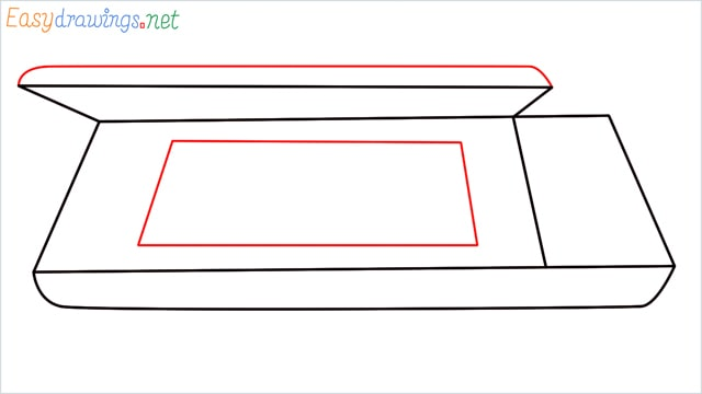 How to draw a Scanner step (5)