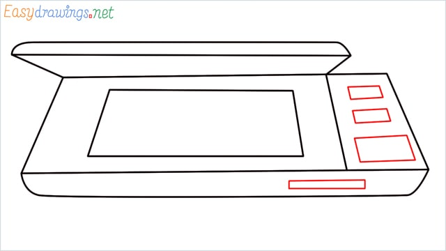 How to draw a Scanner step (6)