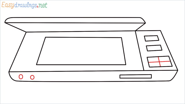 How to draw a Scanner step (7)