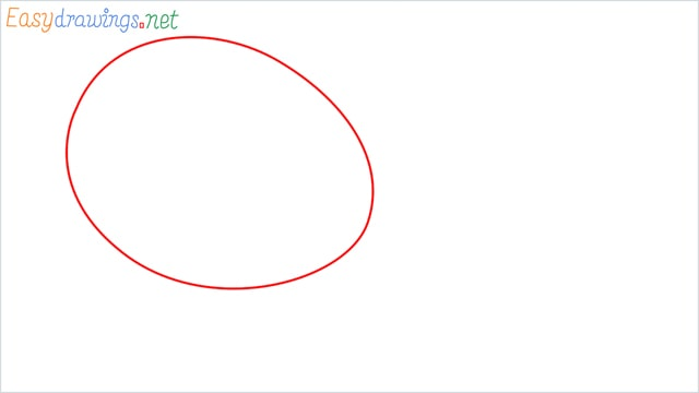 How to draw a Tennis racket step (1)