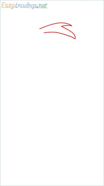how to draw Flintstone step (1)