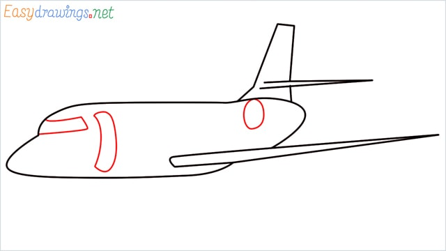 how to draw a airbus step (5)