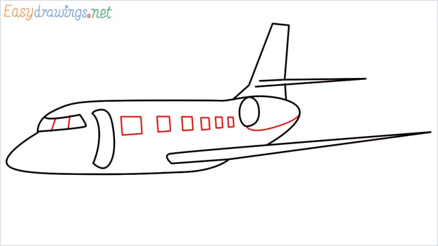how to draw a airbus step (6)