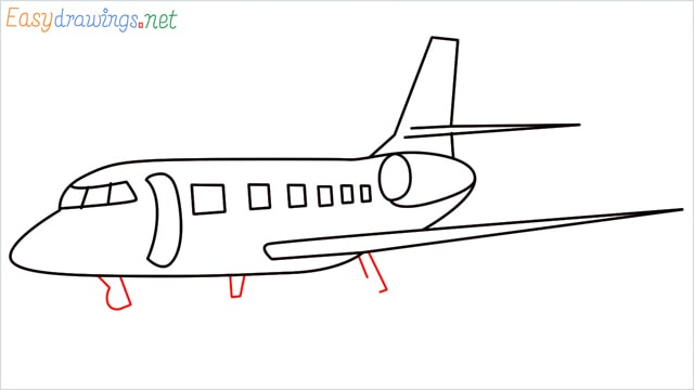 how to draw a airbus step (7)