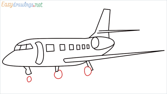 how to draw a airbus step (8)