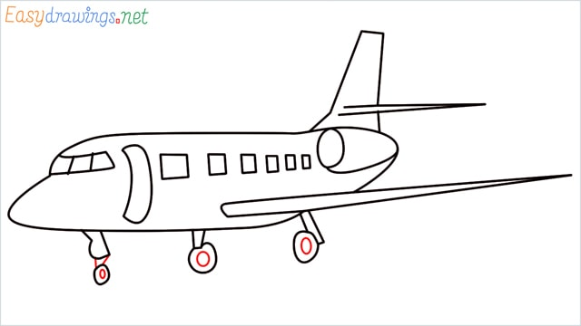 how to draw a airbus step (9)