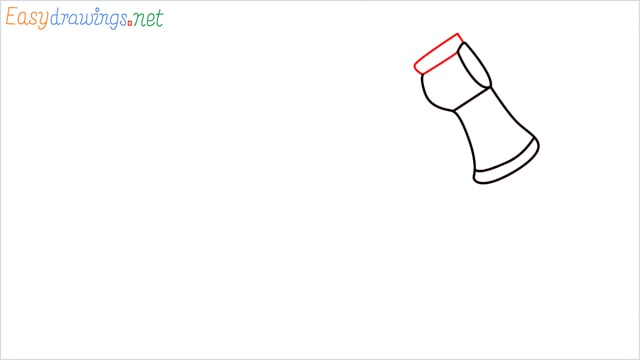 how to draw a axe step (4)