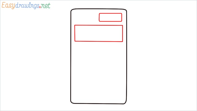 how to draw a calculator step (2)