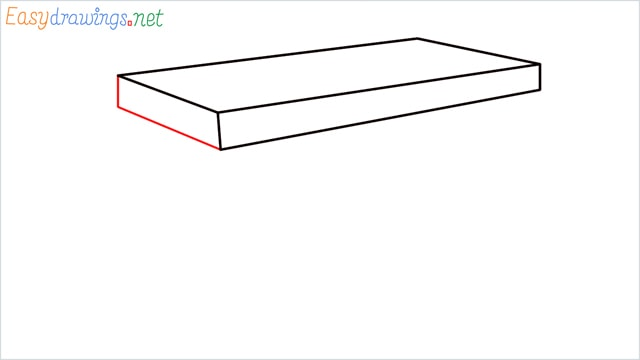 how to draw a desk step (3)
