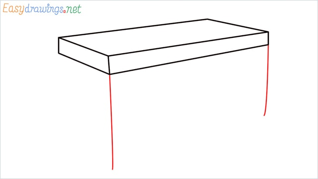 how to draw a desk step (4)