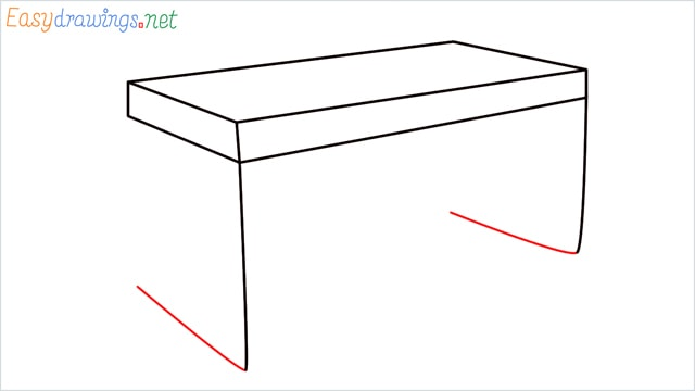 how to draw a desk step (5)