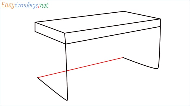 how to draw a desk step (6)