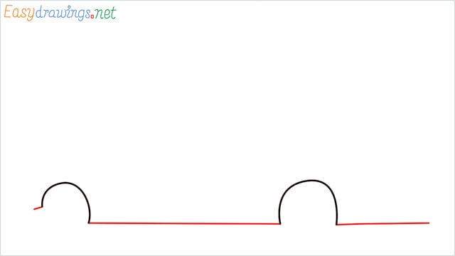 how to draw a double decker bus step (2)