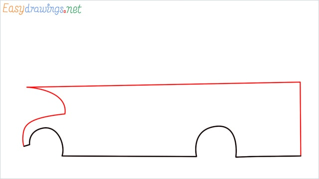 how to draw a double decker bus step (3)