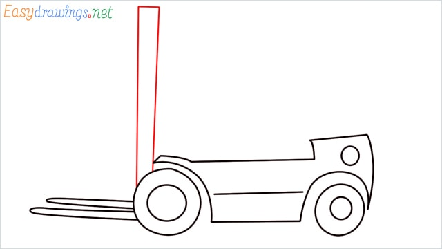 how to draw a forklift step (6)