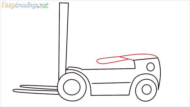 how to draw a forklift step (7)