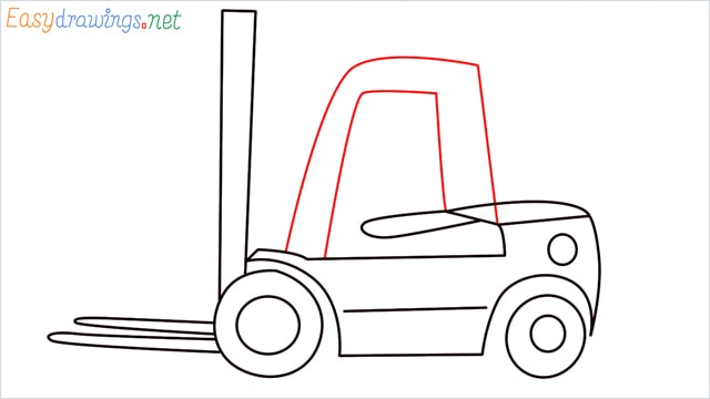 how to draw a forklift step (8)