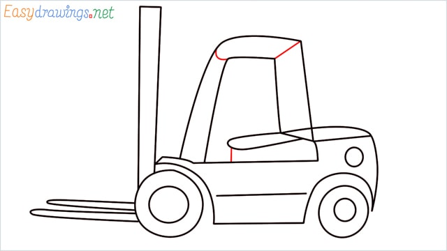 how to draw a forklift step (9)