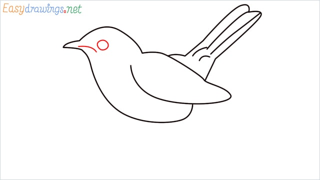 how to draw a lark step (6)