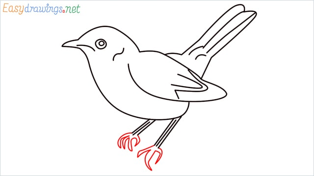 how to draw a lark step (9)