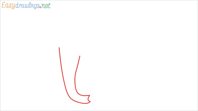 how to draw a mammoth step (1)