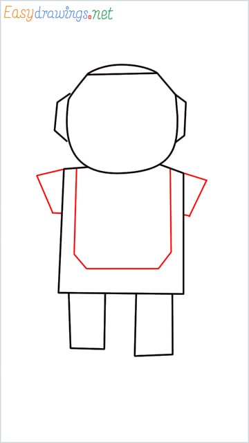 how to draw a robot step (4)