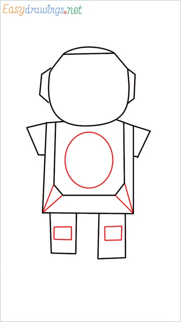 how to draw a robot step (5)