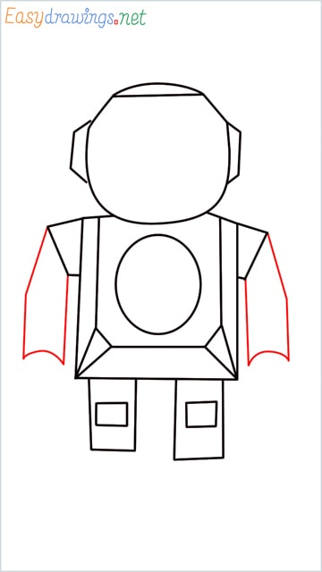 how to draw a robot step (6)