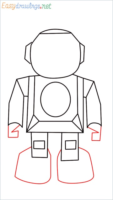 how to draw a robot step (7)
