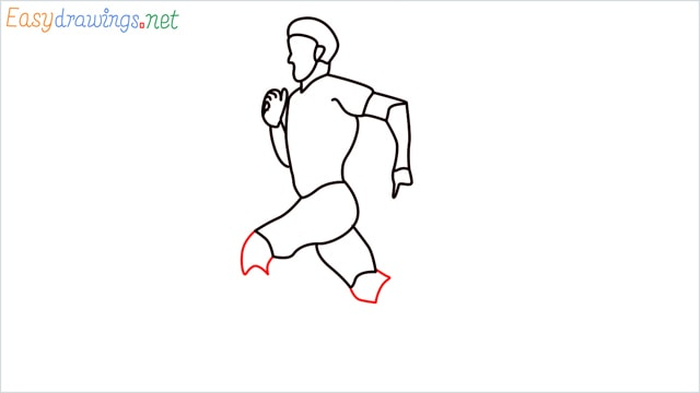 how to draw a runner step (12)